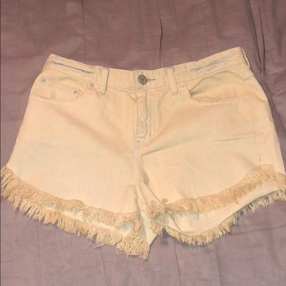 Free People Pants - Free People Denim Shorts